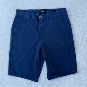 RVCA All Day Stretch Men's Shorts Blue sz 28
